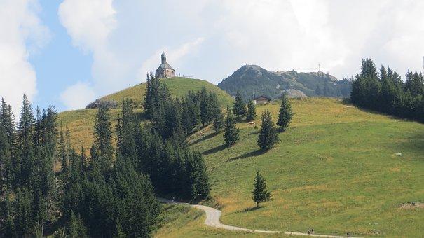 Wallberg, Chapel, Hiking, Hiking Area, Mountain, Alpine