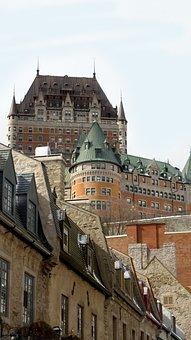 Quebec, Old Quebec, Chateau Frontenac, Ville De Québec