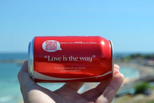 Coca Cola, Can, Cola, Coca, Drink, Soda, Beverage, Coke
