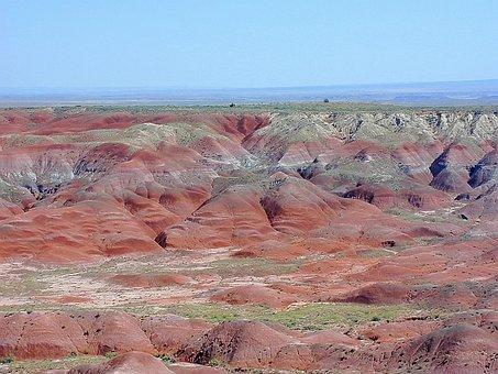 Arizona, Petrified Forest National Park, Usa, Desert