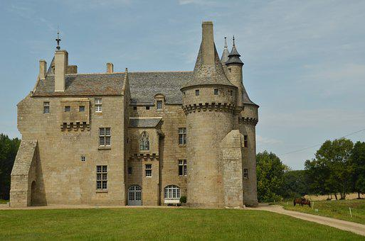 Castle, Fortress, Tower, History, Architecture, Estate