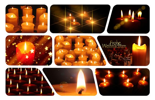Candles, Christmas, Prayer, Wax, Candle Wax, Greeting