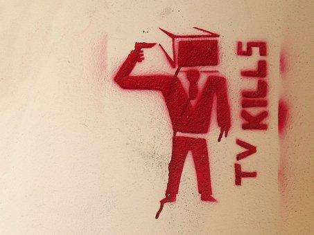 Television, Icon, Man, Men, Gun, Red, Dispute, Freedom