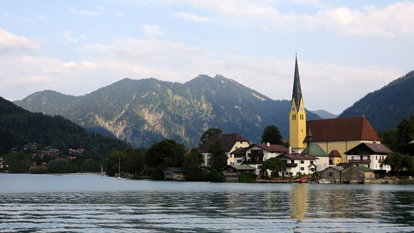 Rottach-egern, Church, Place, City, Holiday, Recovery