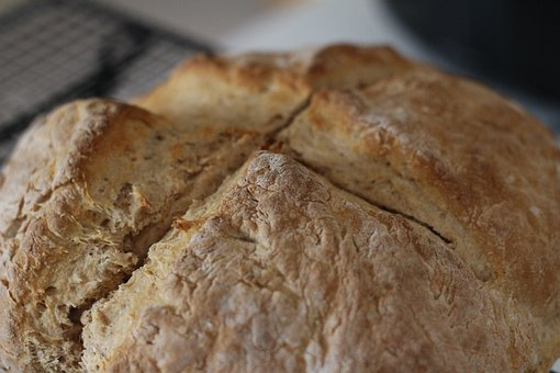 Irish Soda Bread, Homemade, Bread, Food, Baked