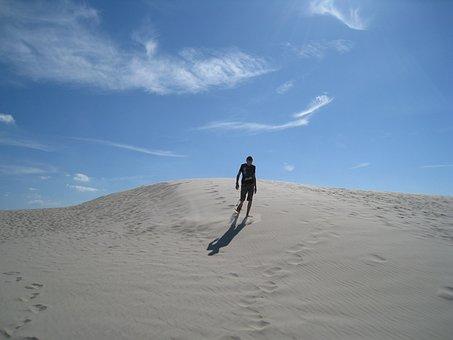 Dune Of Råbjerg Mile, Jutland, North Denmark, Dune