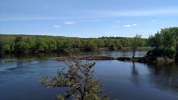 St Croix River, Minnesota, Wisconsin, Spring