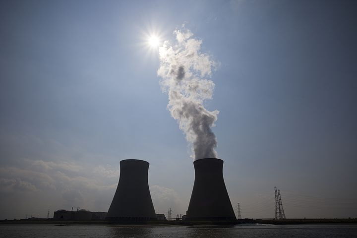 Nuclear Power Plant, Central, Steam, Energy, Non