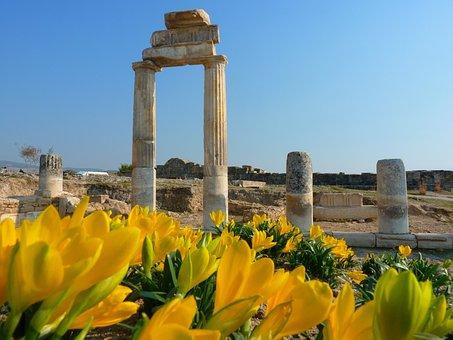 Hierapolis, Pamukkale, Ruin, Ancient, Unesco