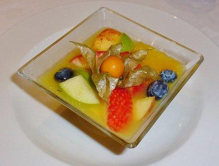 Fruit Salad, Dessert, Food, Eat, Fruit, Physalis