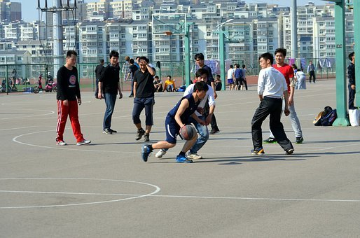 Basketball, Sports, Game, Hoops, Playground, Court