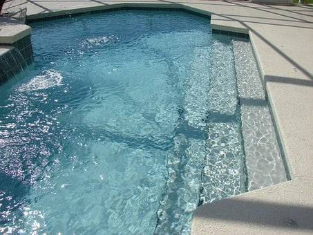 Pool Steps, Pool, Swimming, Spa, Brick Paver