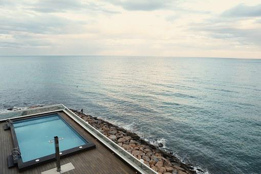 Swimming Pool, Pool, Seaside, Resort, Relax, Spa