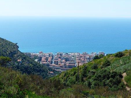 Ventimiglia, City, North Italy, Province Of Imperia