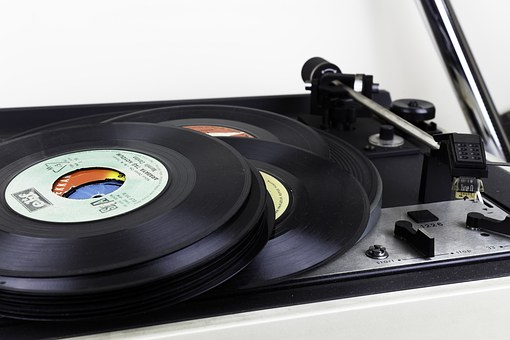 Record, Old, Music, Gramophone Record, Pickup, Istanbul