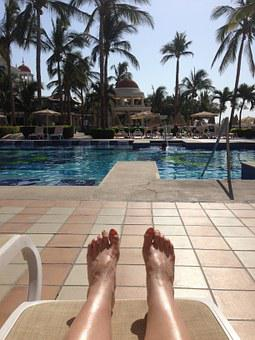 Relax, Toes, Pool, Foot, Relaxation, Therapy, Wellbeing