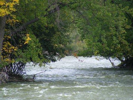 River, Fox River, Kaukauna, Wisconsin