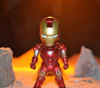 Superhero, Super, Hero, Iron Man, Robotic, Standing