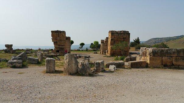 Pamukkale, Ruin, Hierapolis