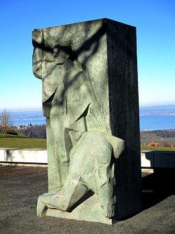 Monument, Sculpture, Bildhauerhunst, Jean Henri Dunant