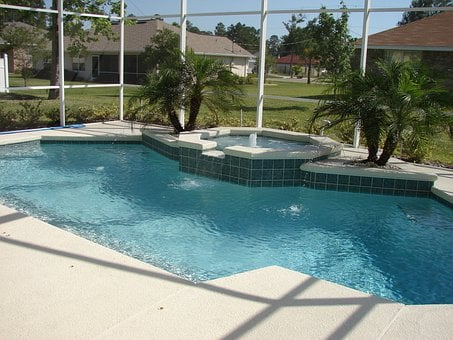 Spa, Pool, Deck, Brick Paver, Pool Water, Swimming Pool