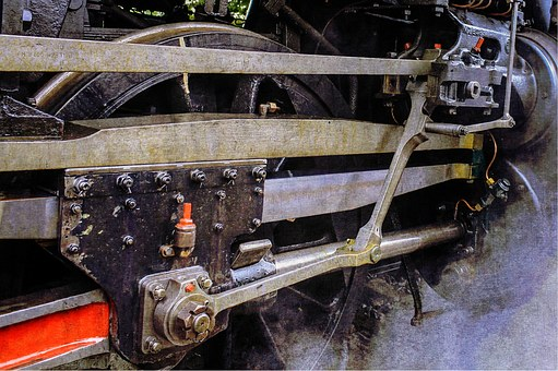 Steam, Connecting Rods, Steam Locomotive, Drive