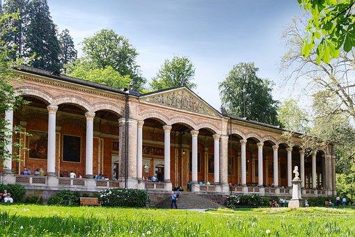 Pump Room, Baden Baden, Culture, Summer, Spring
