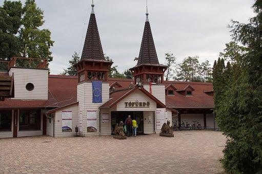 Hevíz, The Thermal Lake, Hungary, Spa