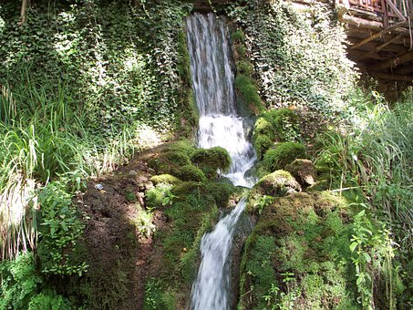 Fountane, Waterfall, Pamukkale