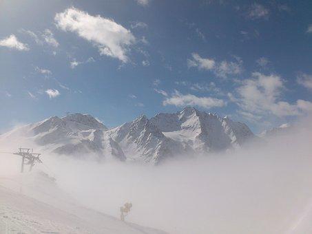 Winter, Winter Sports, Sölden, Glacier