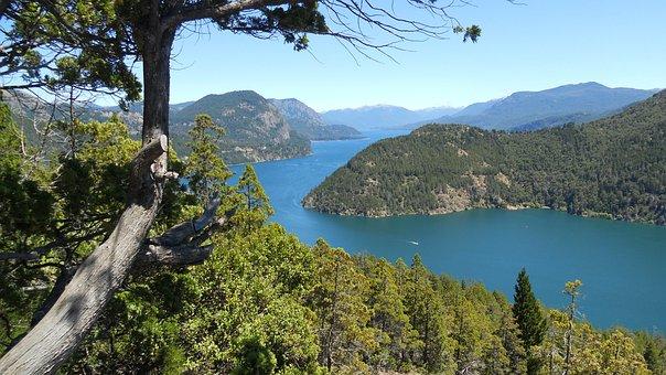 Argentina, Lake, Natural, Patagonia, Water, Nature