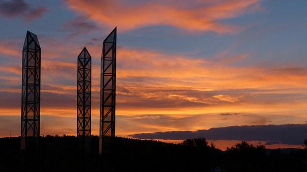 Columnar, Steles, Glass Columns, Art, Artwork