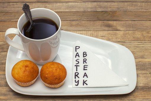 Background, Black, Break, Brown, Cake, Ceramic, Coffee