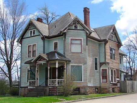 Park Avenue West, Mansfield, Ohio, House, Building