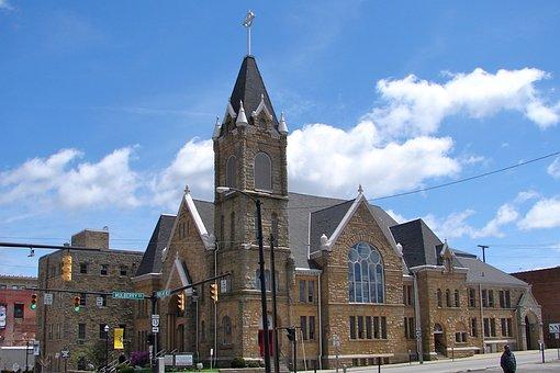 Park Avenue West, Mansfield, Lutheran Church, Building