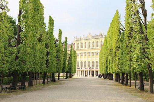 Vienna, Castle Park, Austria, Emperor, Monarchy, Castle