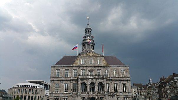 City Hall Of Maastricht, Maastricht, Netherlands, City