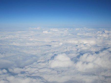 Clouds, Sky, Above The Clouds, Selva Marine