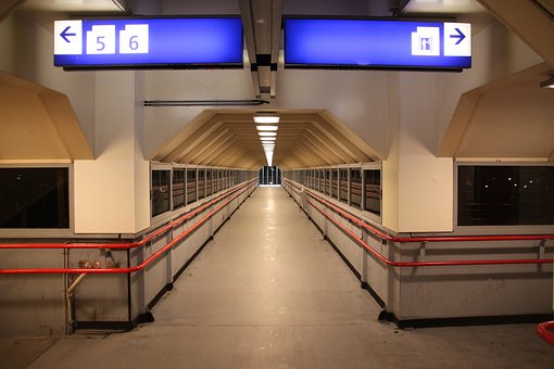 Maastricht, Netherlands, Station, Depot, Train