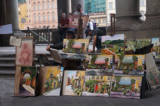Piantes, Italian, Artistic, Europe, Canvas