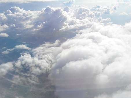 Clouds, Cloud, Aircraft, Flight, Above The Clouds