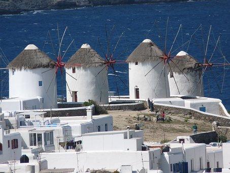 Mykonos, Greece, Island, Greek Island, Cyclades, Somaia