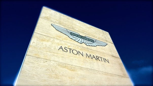 Aston Martin, Car, Fast, Logo, Sign, Sky, Speed