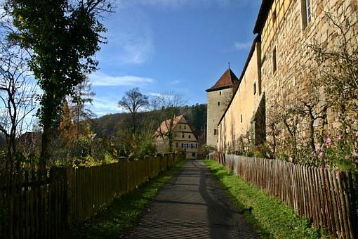 Bebenhausen, Monastery, Away, Germany, District