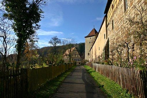 Bebenhausen, Monastery, Away, Germany, District