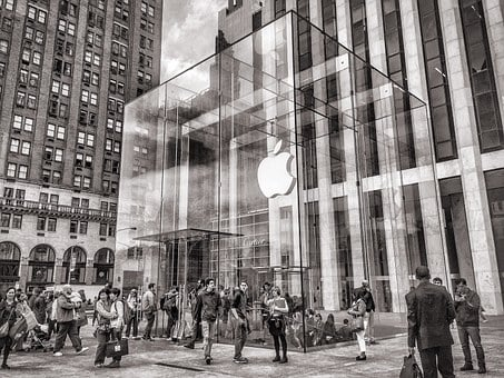Apple, New York, Apple Store, Central Park, 5th Avenue