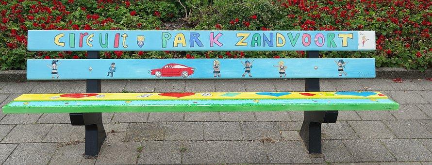 Bank, Seat, North Holland, Zandvorrt, Sit, Rest, Click