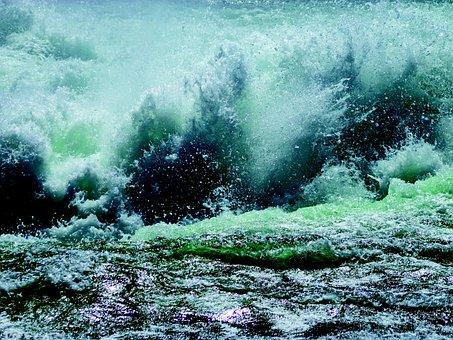 Cascade, Water, Whirlpool, Waterfall, River