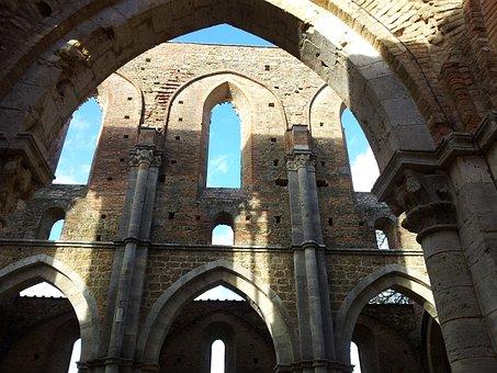 San Galgano, Ruins, Gothic