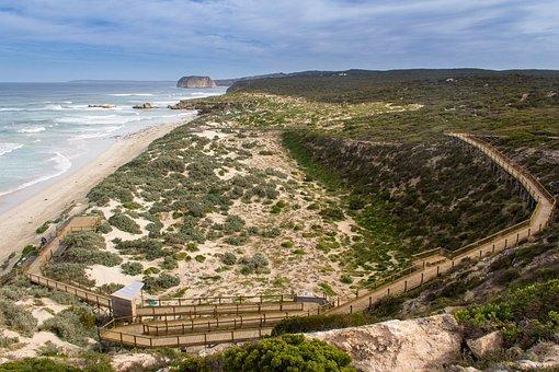 Kangaroo Island, Seal Bay, South, Australia, Coast